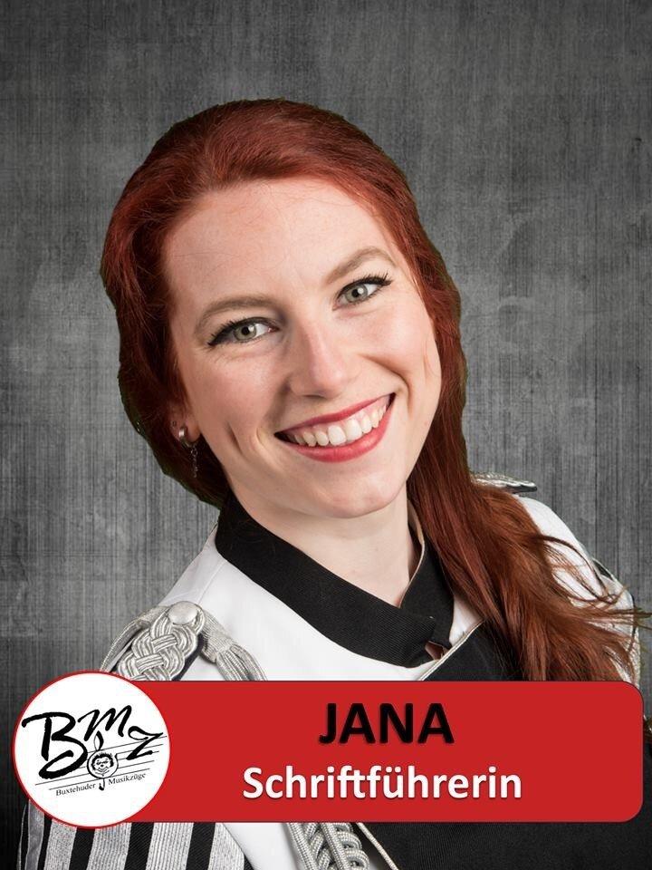 Schriftführerin - Jana Lange