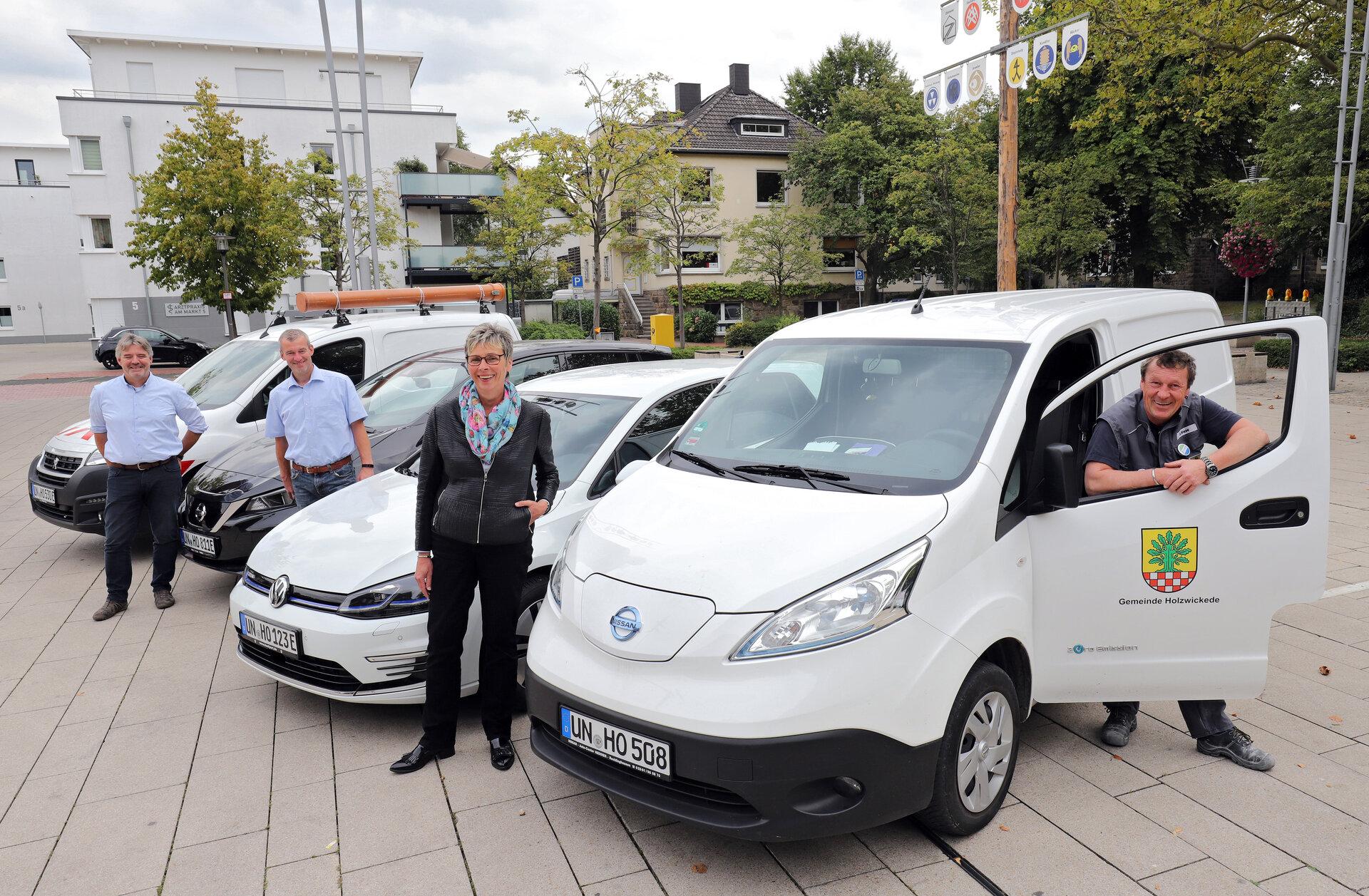 E-Fahrzeuge Fuhrpark