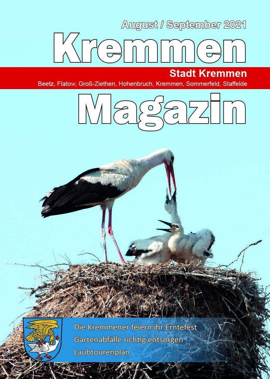 Kremmen Magazin 04/2021