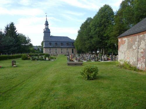Friedhof Böhlen Foto Ralf Grund