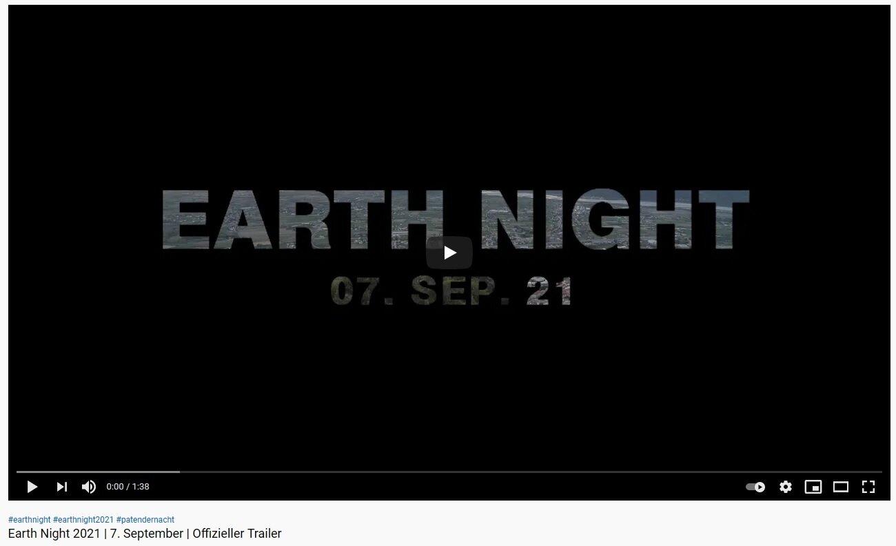 "Video ""Earth Night"""