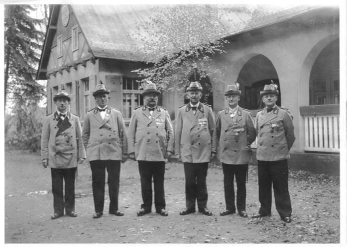 Der Vorstand Anfang der dreißiger Jahre