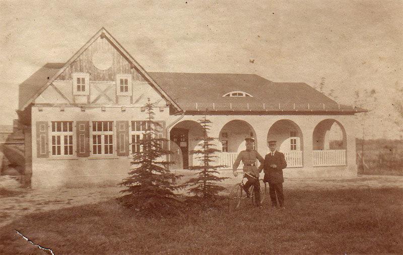 Das ehemalige Schützehaus (heute Seestr. 11)