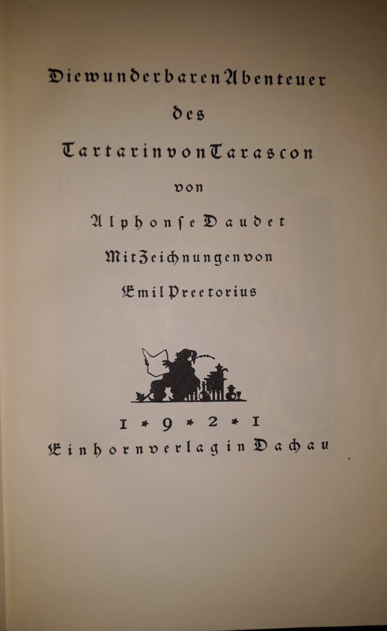 Die wundersamen Abenteuer des Tartarin von Tarascon
