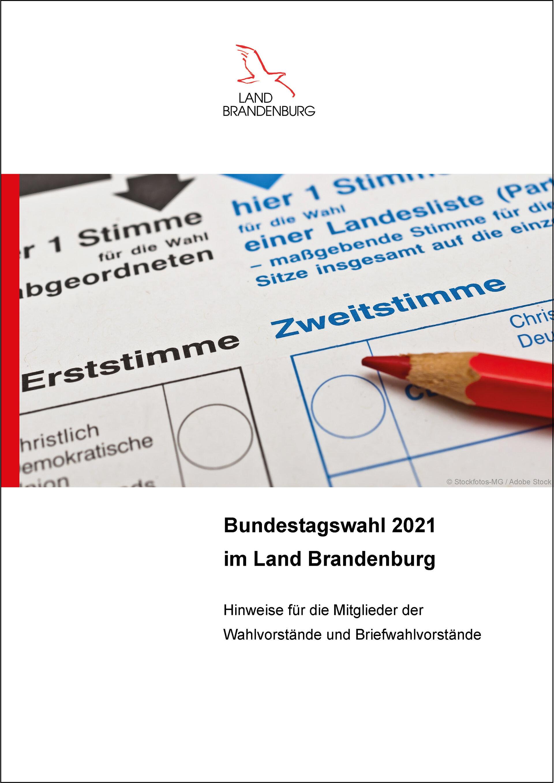 Hinweise für Mitglieder der Wahlvorstände und Briefwahlvorstände