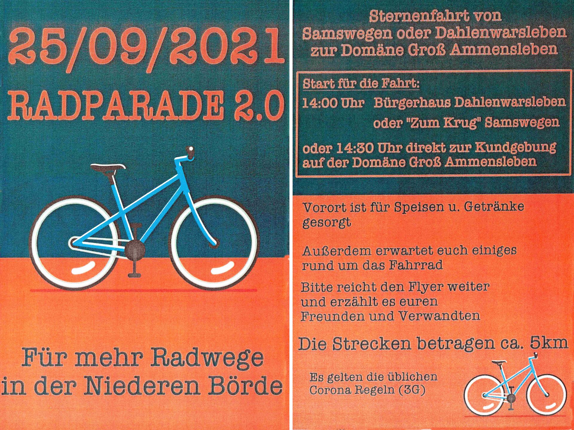 Radparade 2021
