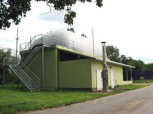 Biogasanlage LVAT Groß Kreutz