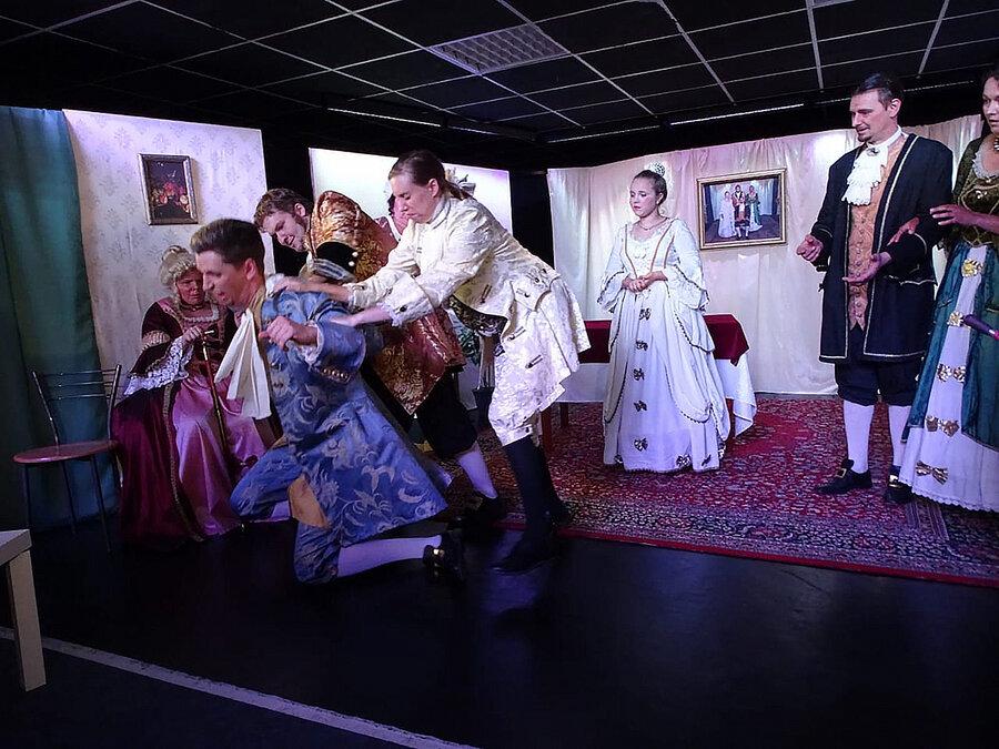 Tartuffe im Kellertheater 2018