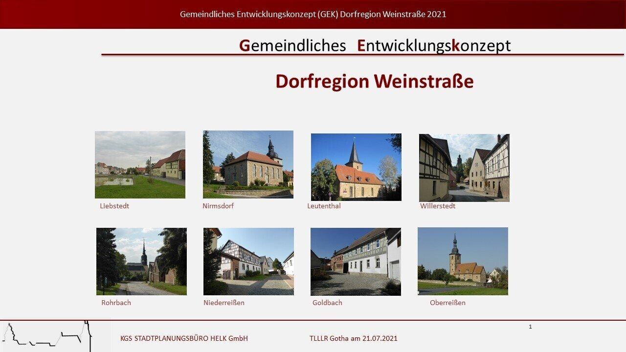 Dorfregion Weinstraße