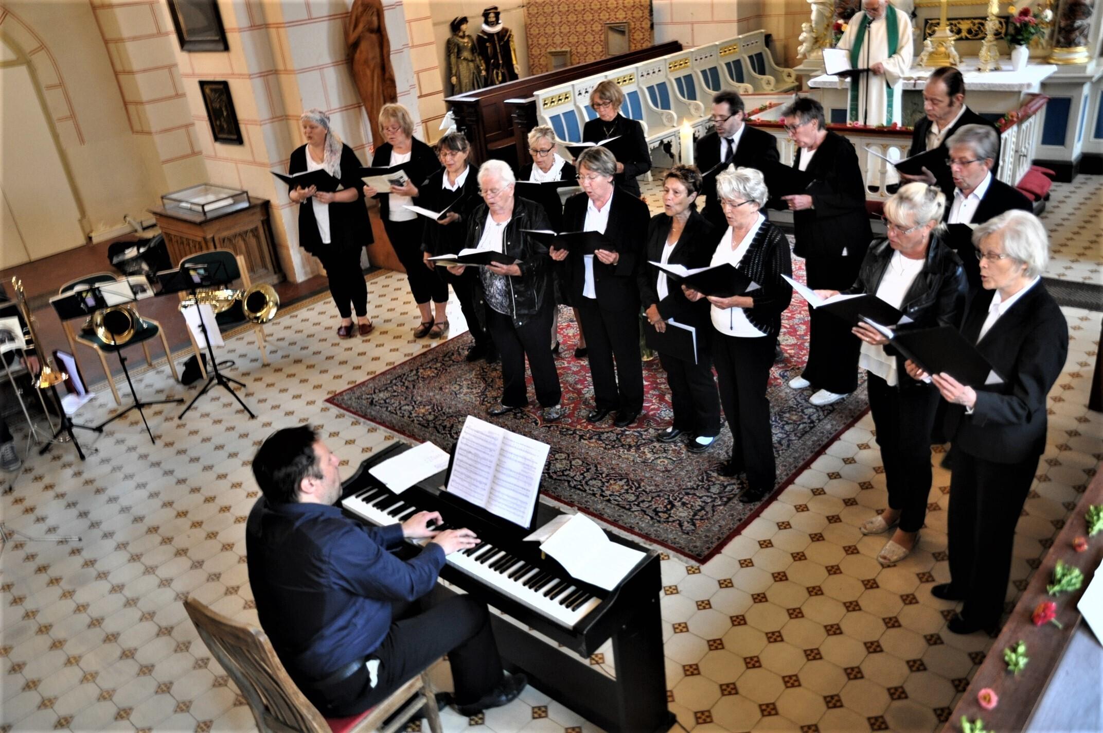 Kantor mit Chor