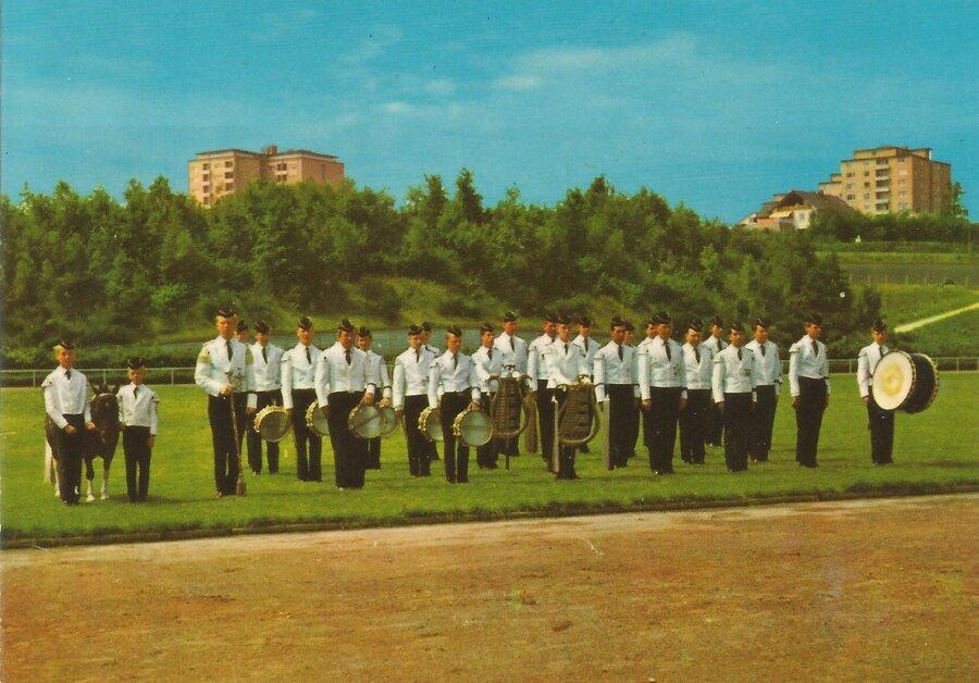 1967-Männerspielmannzug gegründet 1951