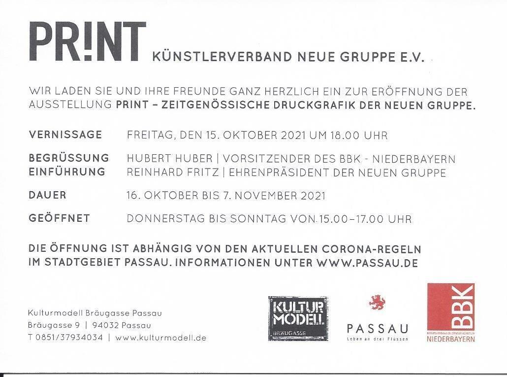 Einladung PRINT -Rückseite