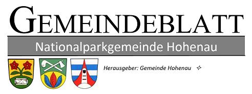 Gemeindeblatt Hohenau