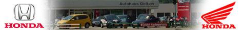 Branchenbanner Autohaus Geltow - Motorroller