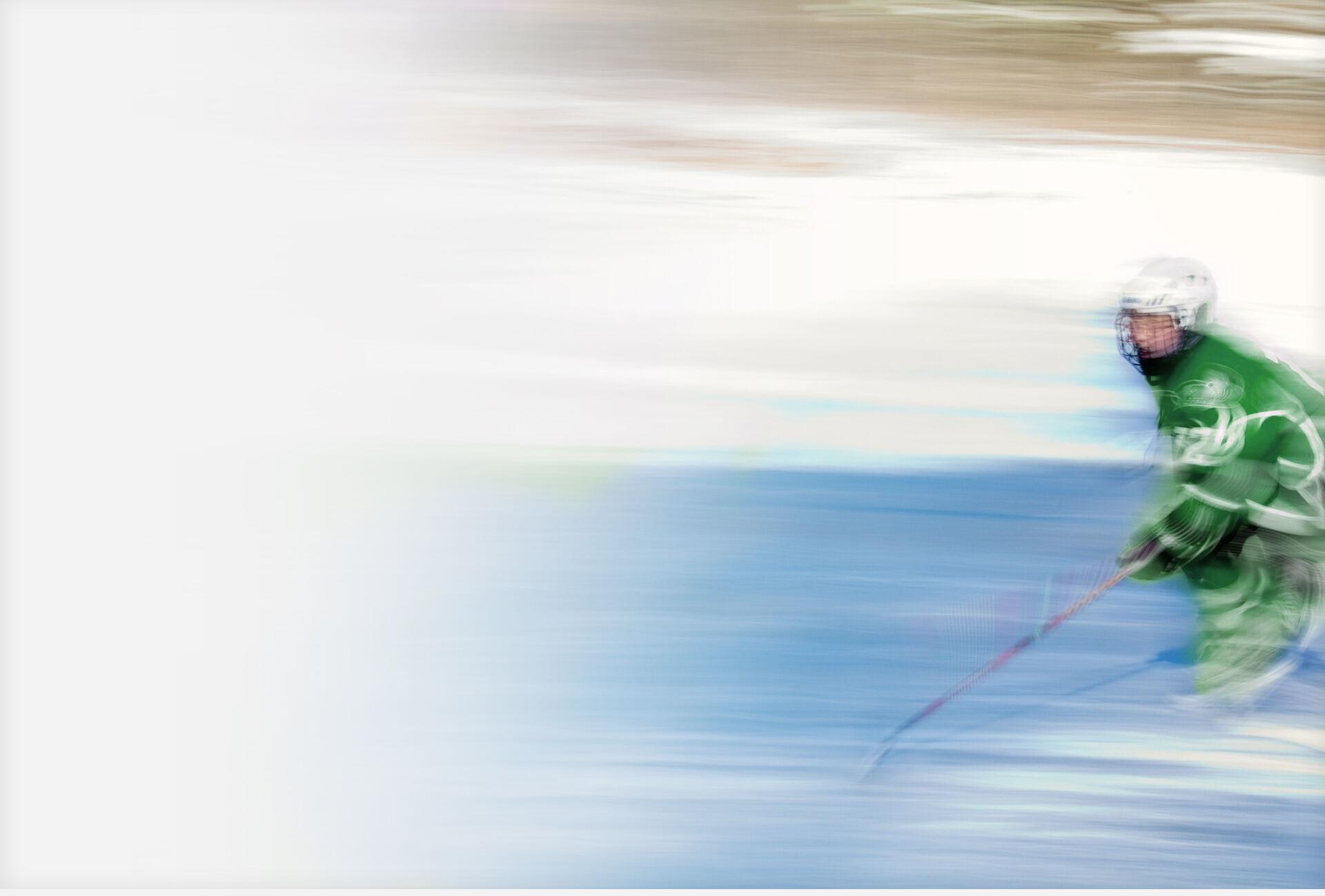 Eishockeyspieler Hintergrundbild