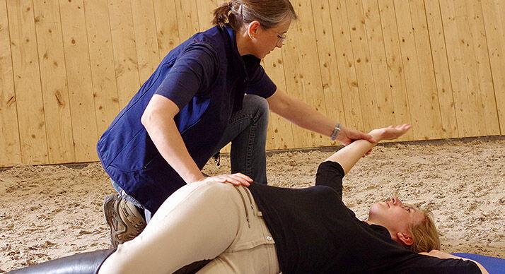Physiotherapie für Reiter