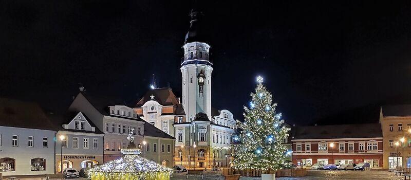 Weihnachten in Bilin