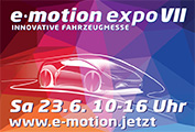 e·motion expo VII – Innovative Fahrzeugmesse am 23.06.2018 vor dem Schloss Oranienburg