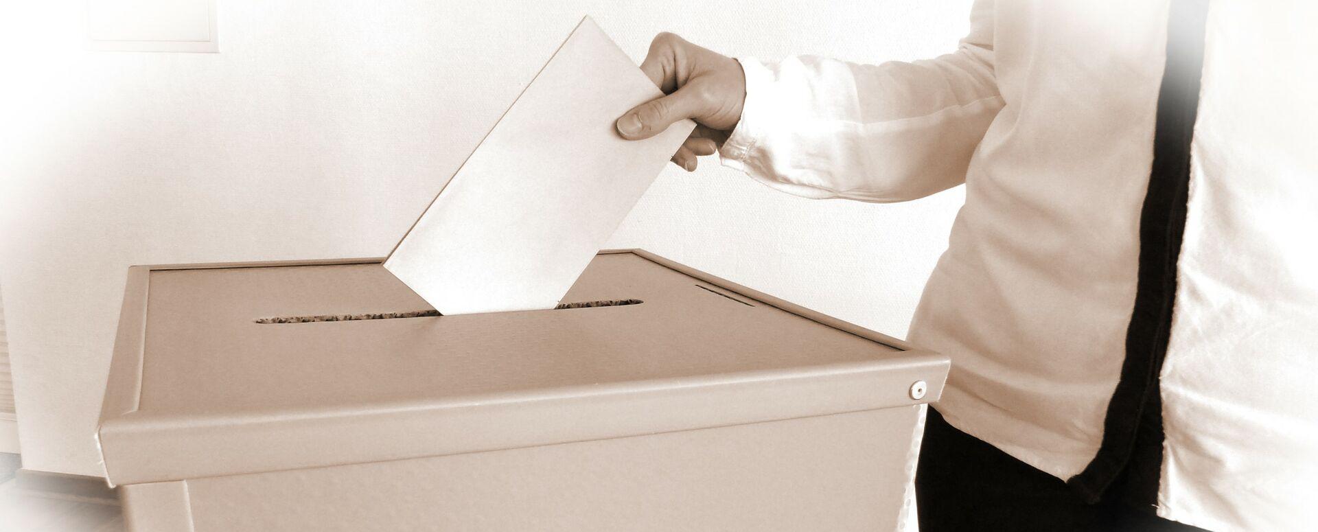 Informationen zu Wahlen in Maintal (Das Bild zeigt eine Wahlurne)