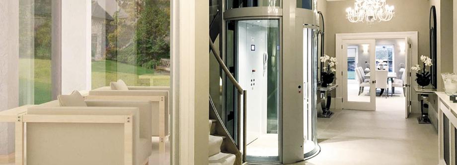 Runder Homelift - runder Aufzug Giotto ideal für Hotels von Aufzug LuS