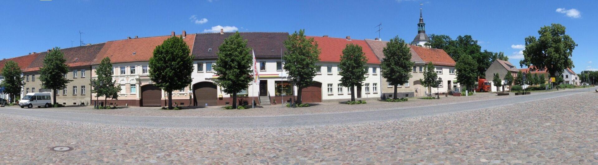 Panoramabild Markt Schönewalde