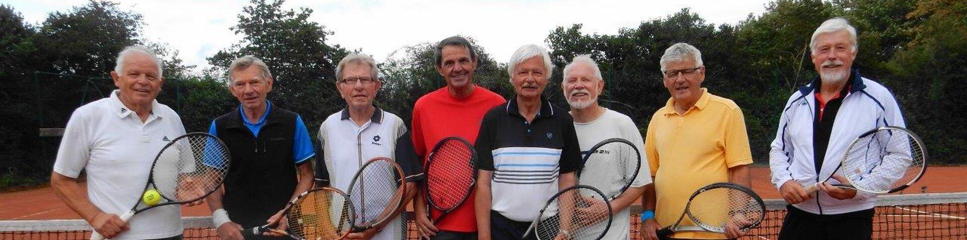 Tennis Aufstiegsfoto