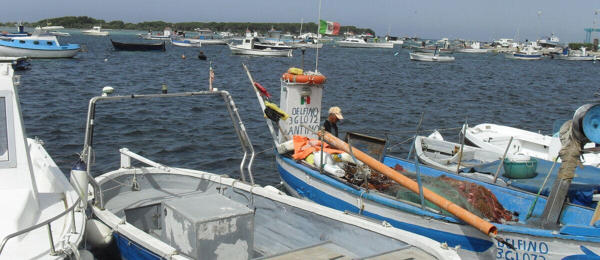 Der Hafen von Porto Cesareo