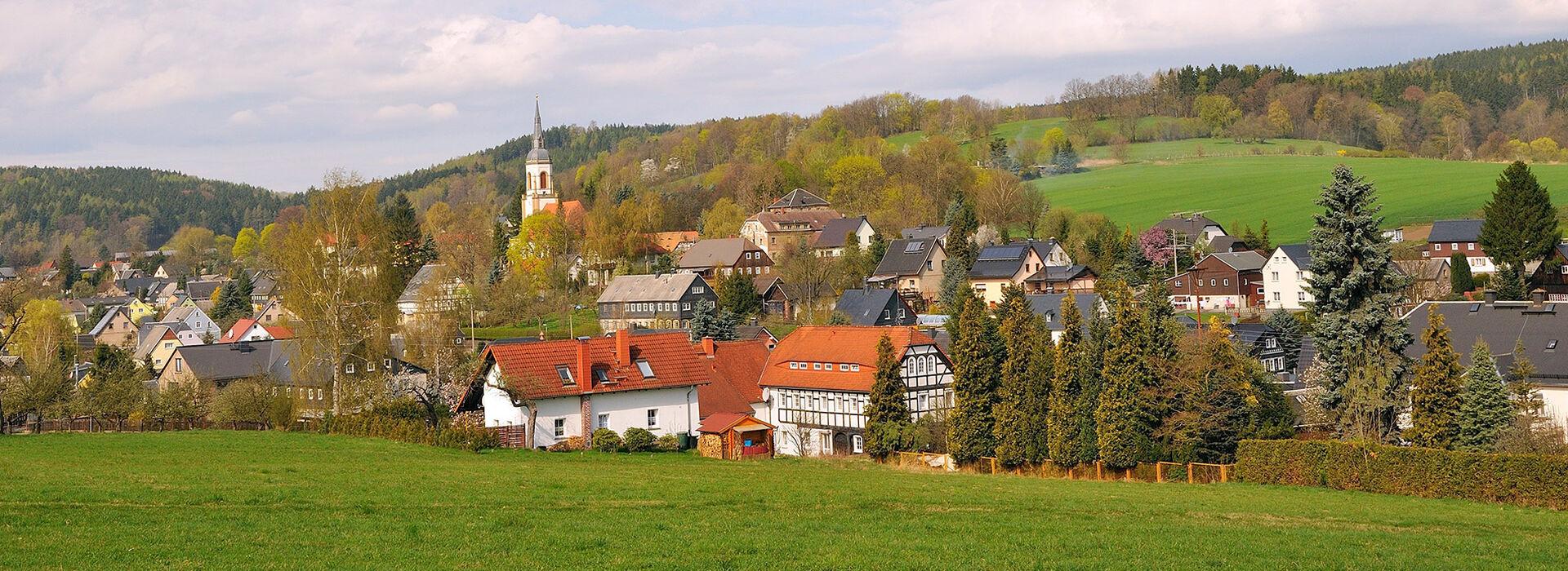 Blick nach Wehrsdorf Foto: Maik Schöffmann