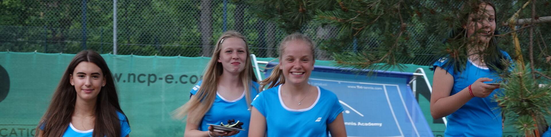 Die TSV Tennismädchen