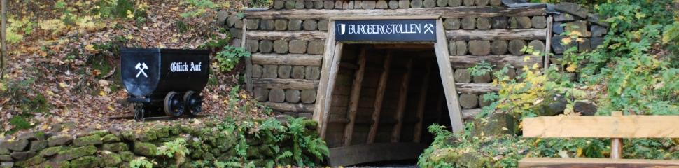 Eingang zum Burgbergstollen