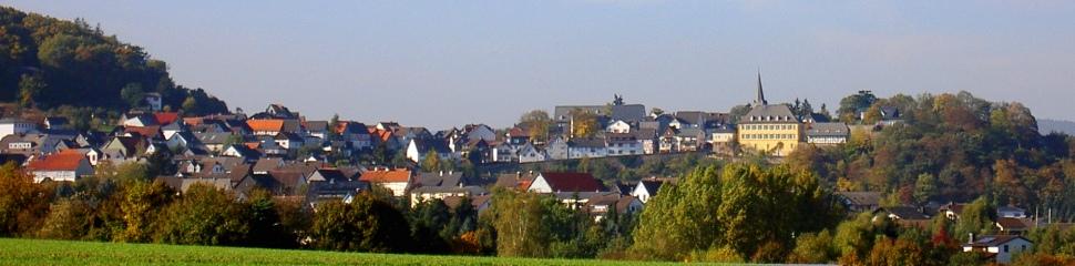 Blick auf Battenberg und die Neuburg