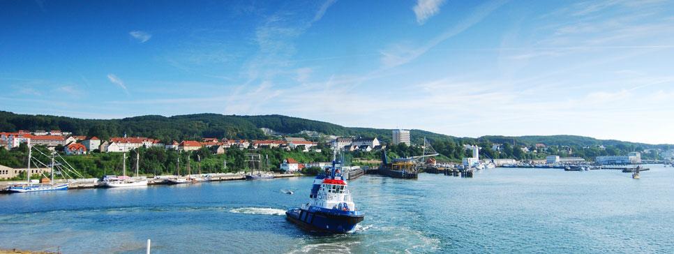 Schlepper im Sassnitzer Hafen