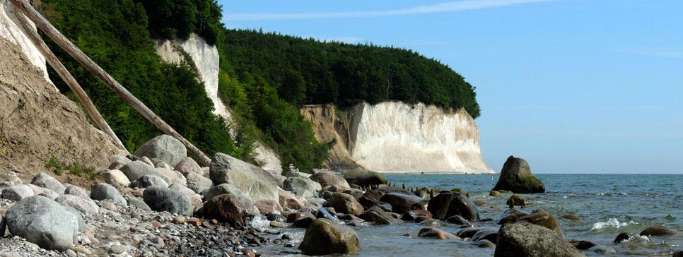 Kreidefelsen vom Nationalpark Jasmund