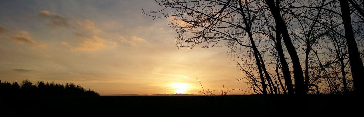 Armsheim Sonnenaufgang