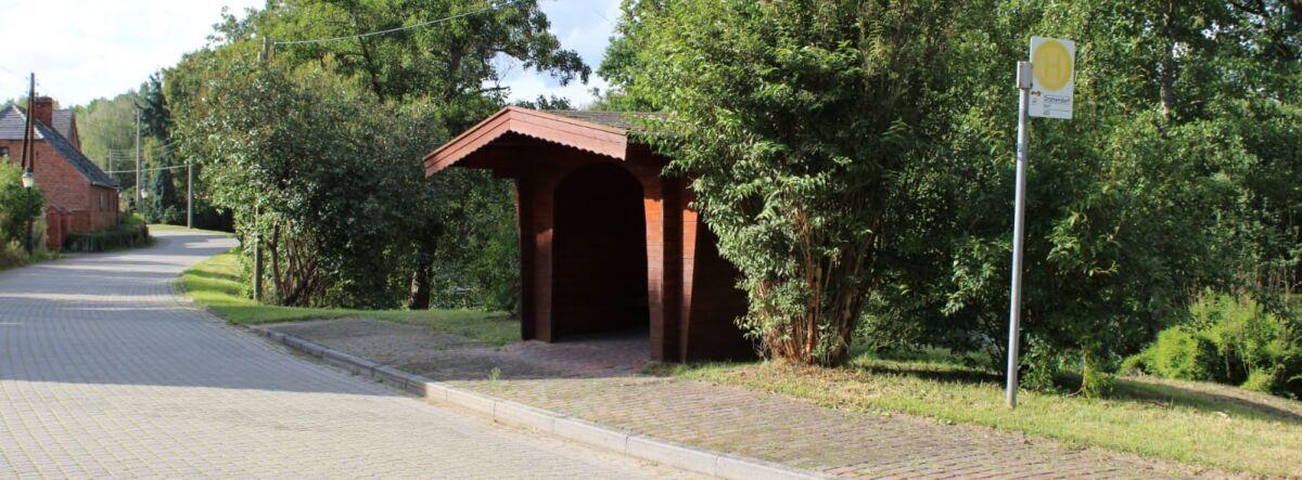 Buswartehäuschen Drahendorf