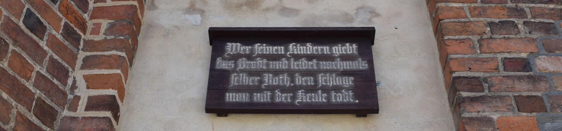 Der Jüterboger Spruch