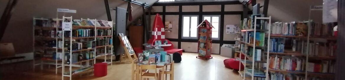 Kinderbuchbereich in der BONA Stadtbibliothek
