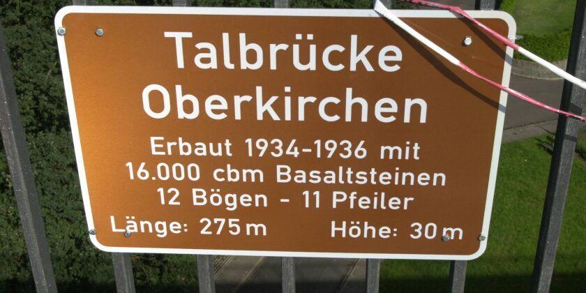 Talbrücken Maße