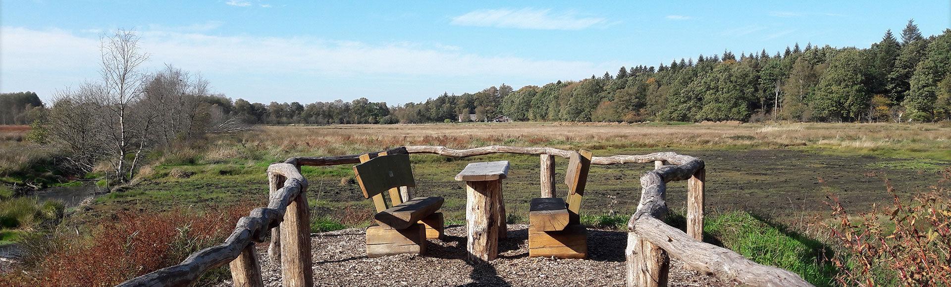 Landschaft der Gemeinde Moorweg