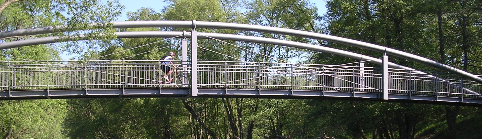 Radbrücke Dodenau / Eder-Radweg