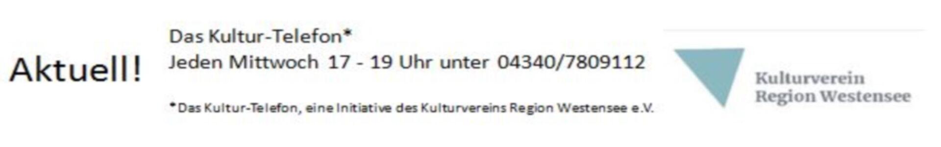 Kulturtelefon des Kulturvereins Region Westensee e.V.