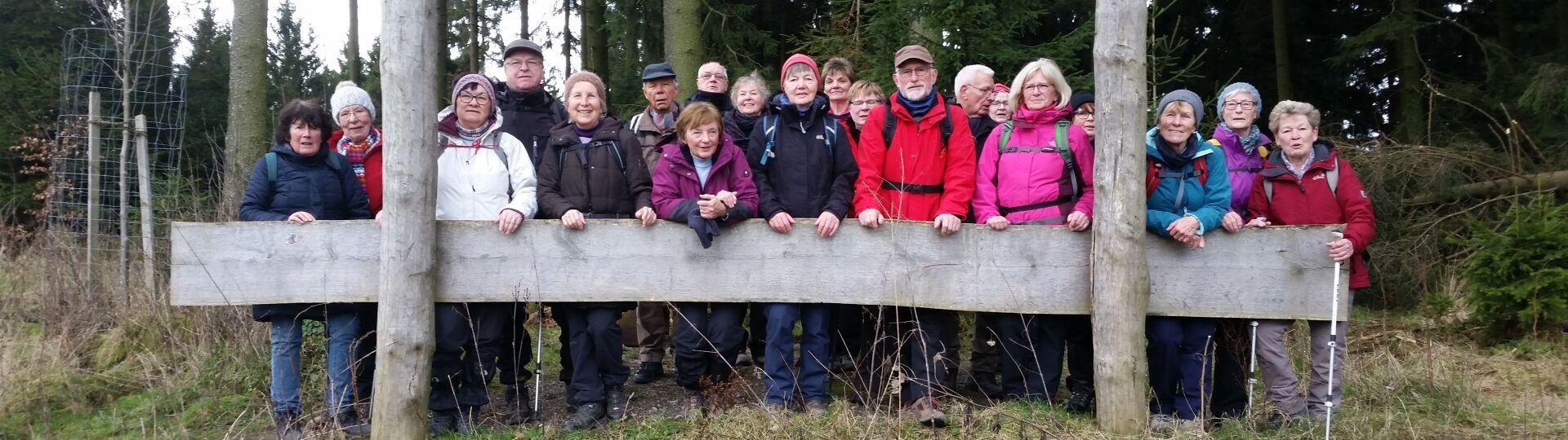 Samstagswandergruppe am Deister Nordblick