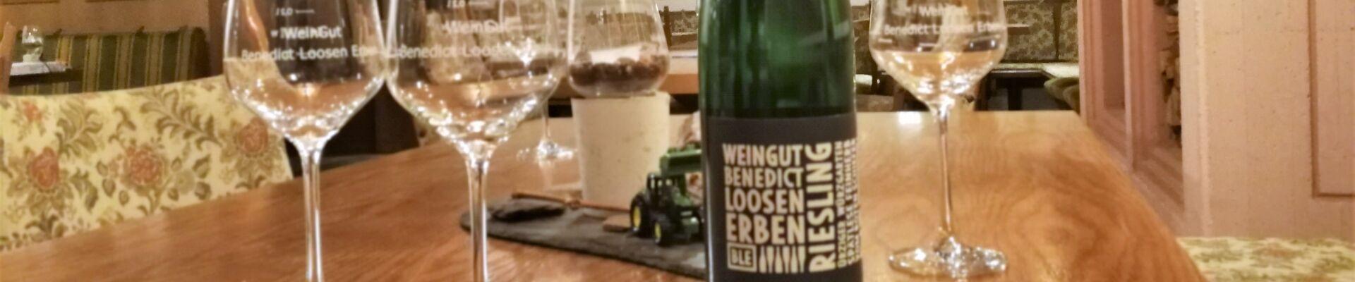Weinprobe mit dem WeinGut Benedict Loosen Erben