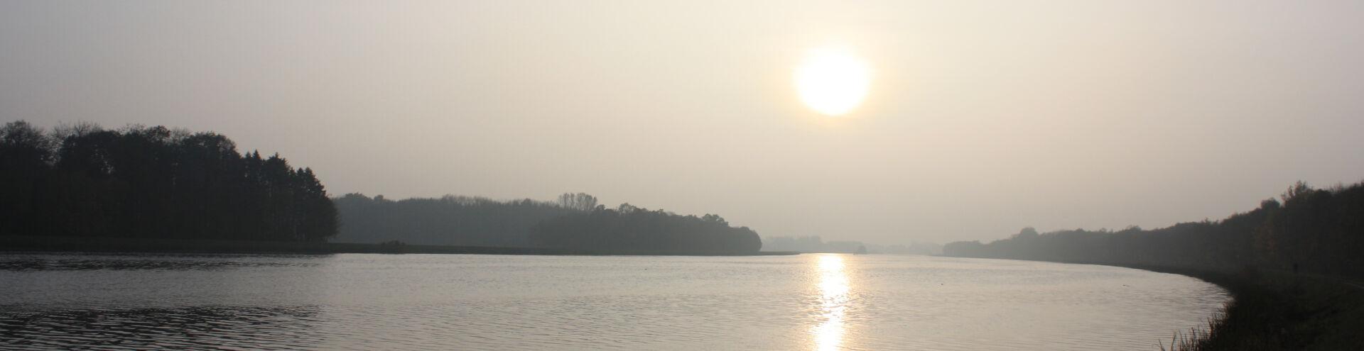 Sonnenaufgang Donau