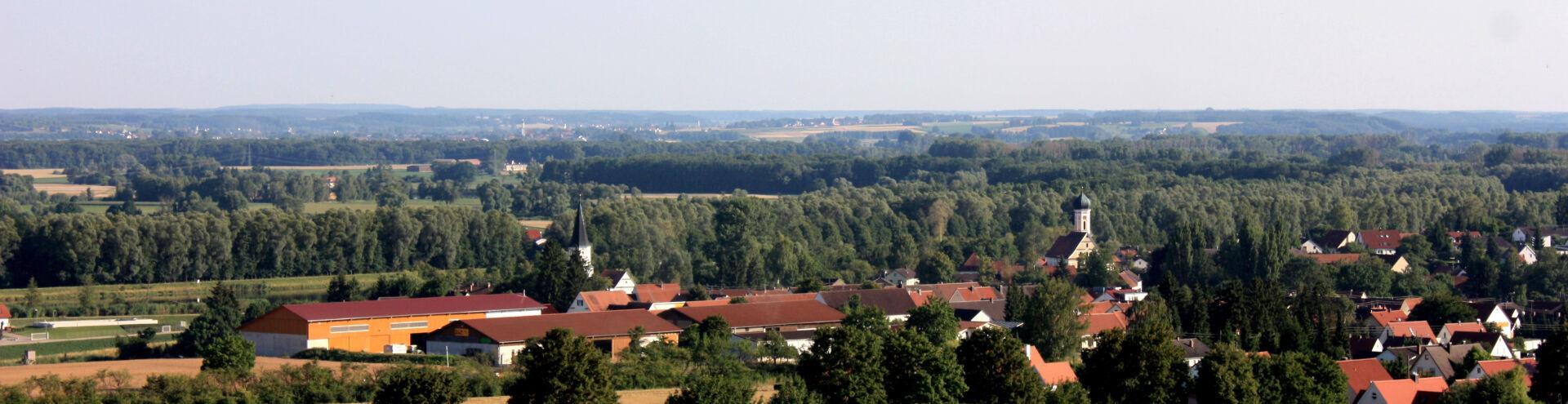 Ortseingang Erlingshofen