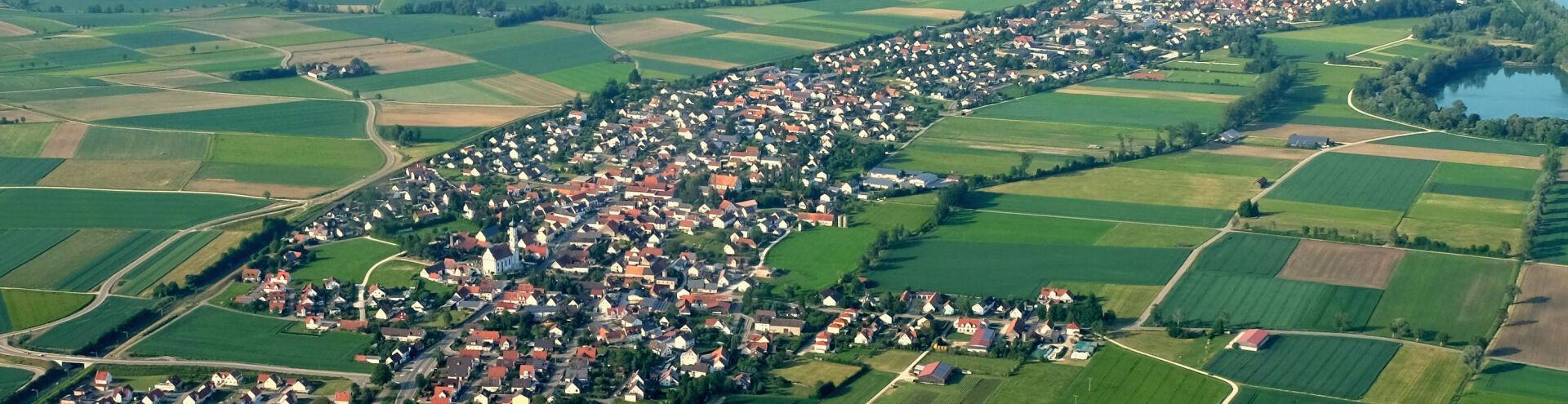 Luftbild Tapfheim