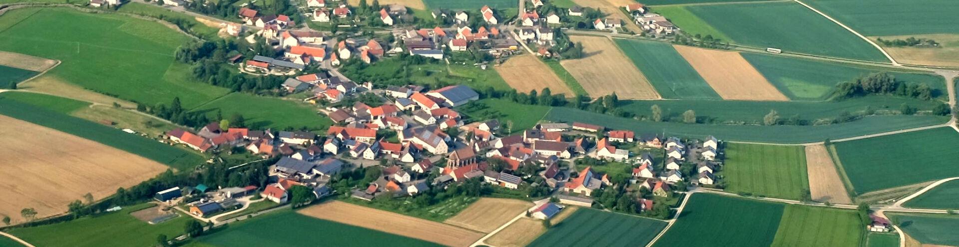 Luftbild Brachstadt