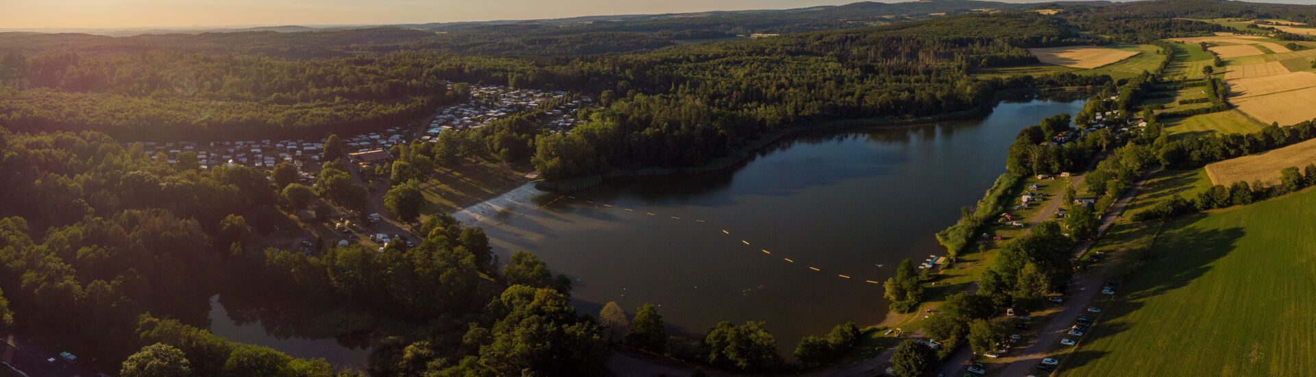 Luftbild Gederner See