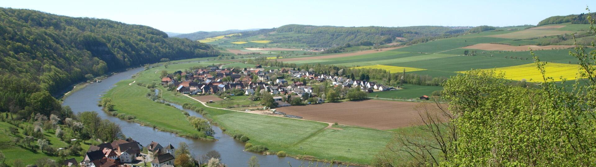 Weserblick bei Rühle