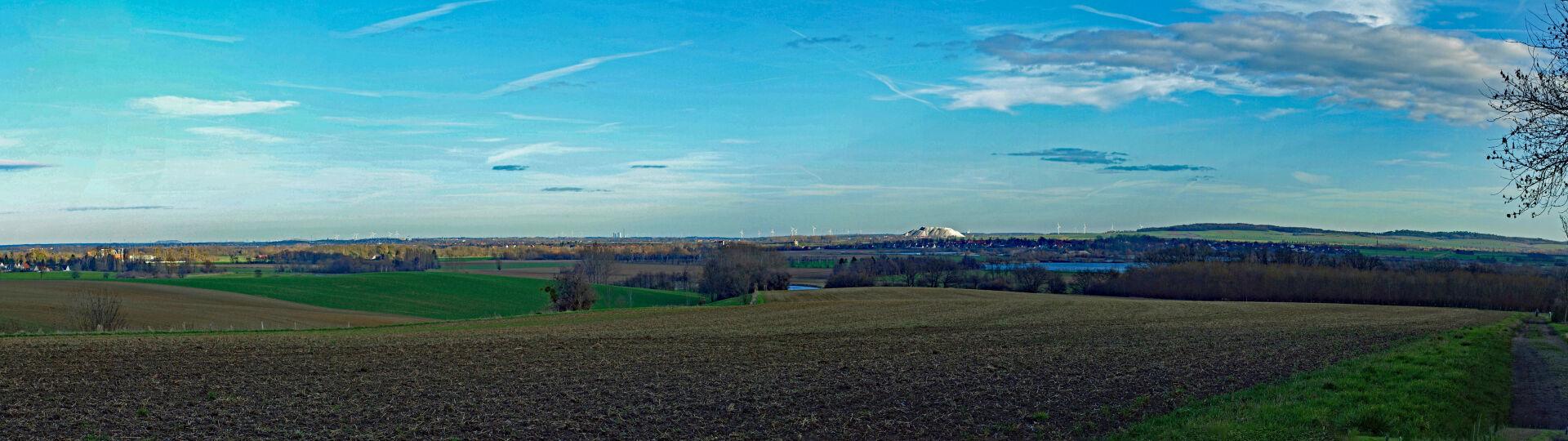 Panoramablick vom Schulenburger Berg Richtung Osten